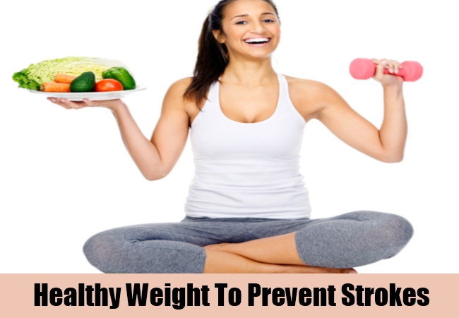 Healthy Weight To Prevent Strokes