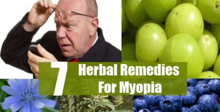 Herbal Remedies For Myopia