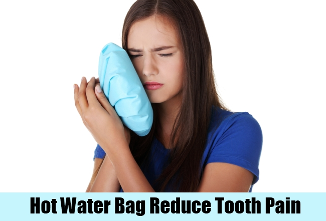 Hot Water Bag Reduce Tooth Pain