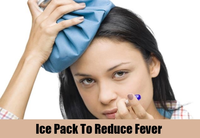 Ice Pack To Reduce Fever