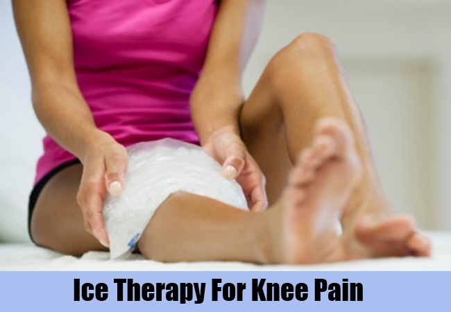 Ice Therapy For Knee Pain