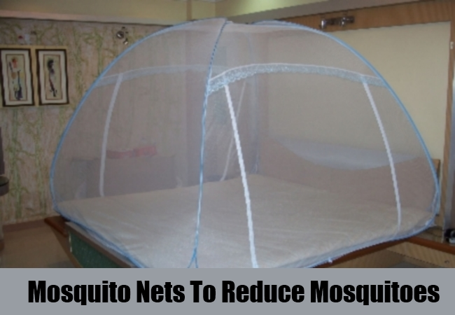 Mosquito Nets To Reduce Mosquitoes