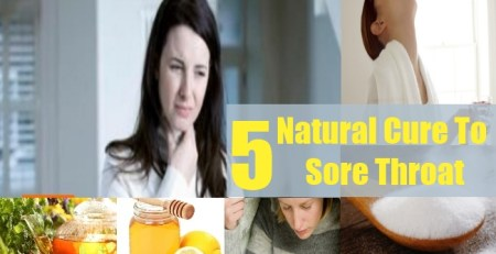 Natural Cure To Sore Throat