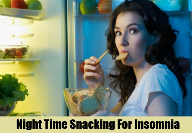 Night Time Snacking For Insomnia