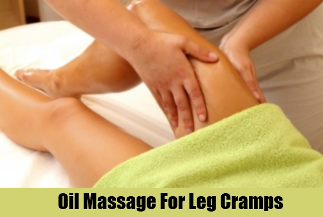 Oil Massage For Leg Cramps