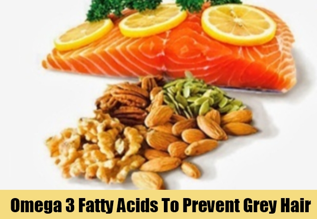 Omega 3 Fatty Acids To Prevent Grey Hair