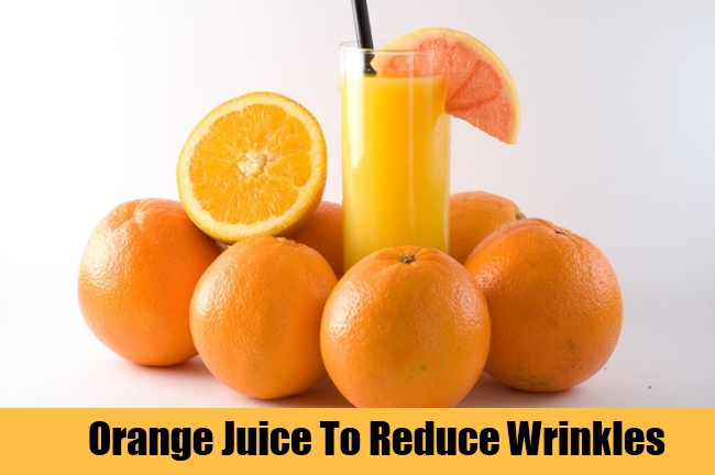 Orange Juice To Reduce Wrinkles