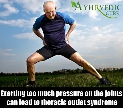 Pressure on joints