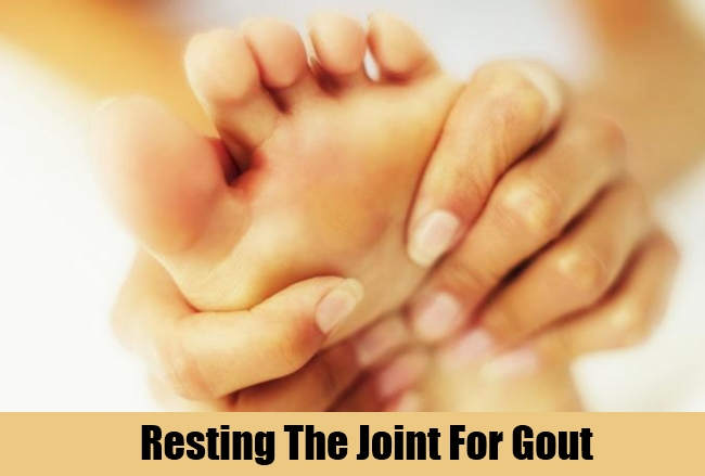 Resting The Joint For Gout