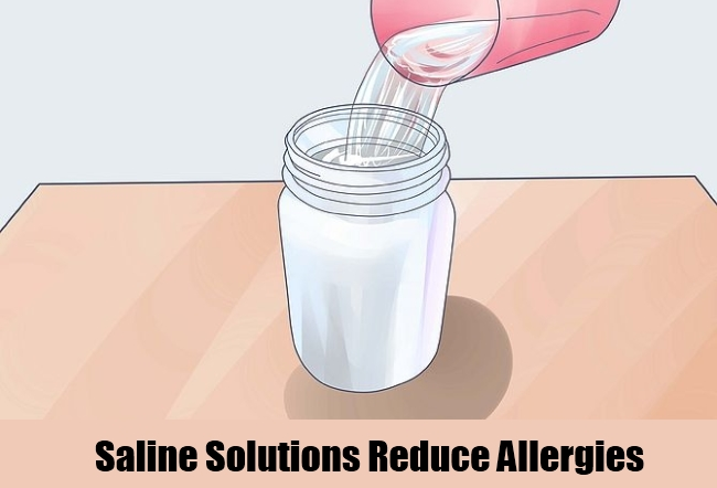 Saline Solutions Reduce Allergies