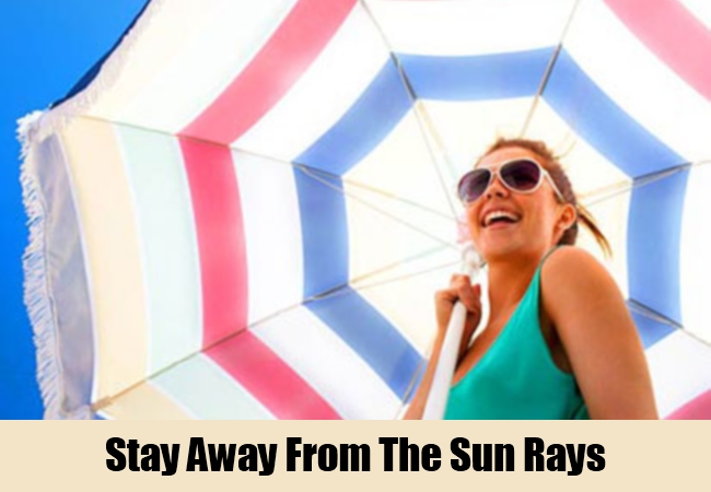Stay Away From The Sun Rays