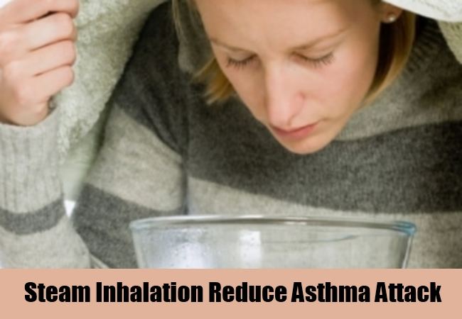 Steam Inhalation Reduce Asthma Attack