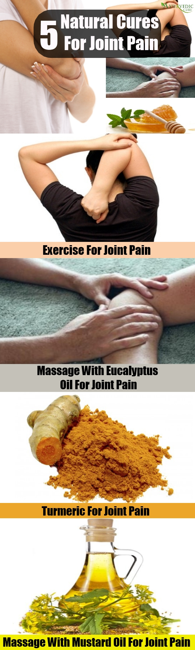 Top 5 Natural Cures For Joint Pain