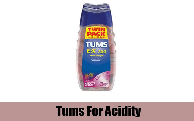 Tums For Acidity
