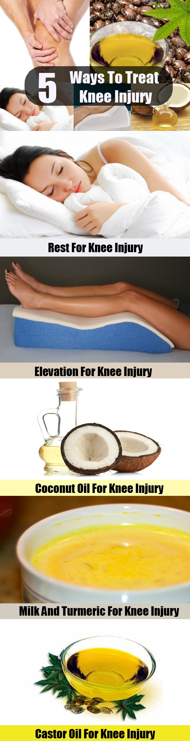 Various Ways To Treat Knee Injury