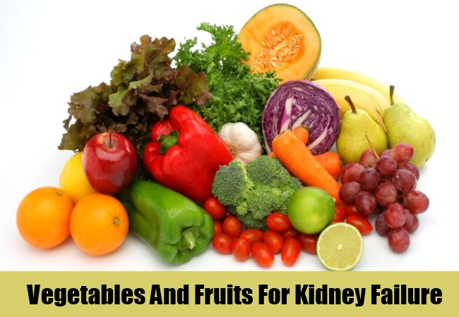 Vegetables And Fruits For Kidney Failure
