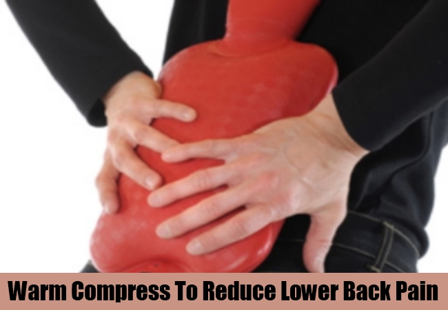 Warm Compress To Reduce Lower Back Pain