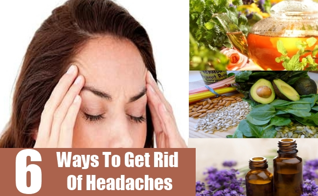 Ways To Get Rid Of Headaches