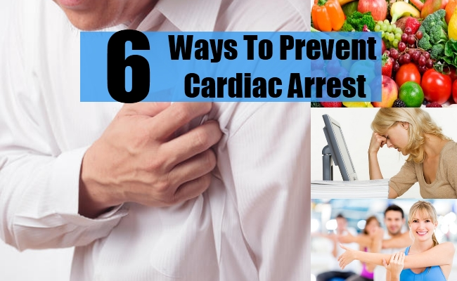 Ways To Prevent Cardiac Arrest