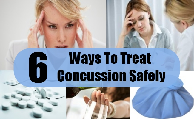 Ways To Treat Concussion Safely