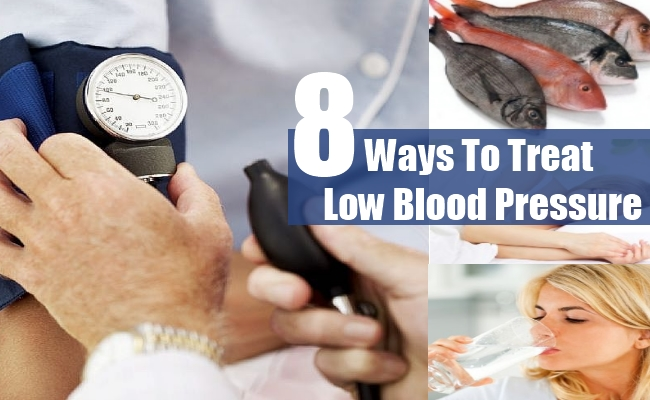 Ways To Treat Low Blood Pressure