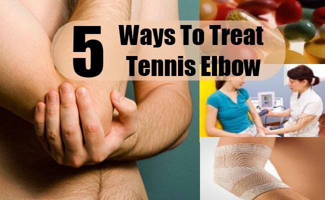 Ways To Treat Tennis Elbow