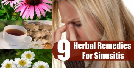 9 Excellent Herbal Remedies For Sinusitis