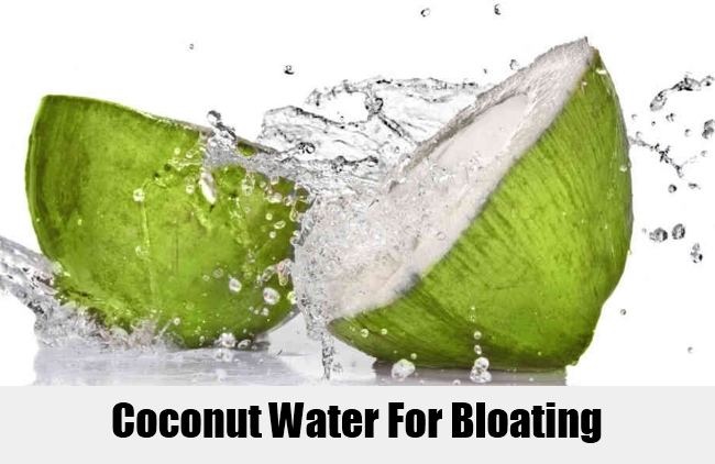 Coconut Water For Bloating