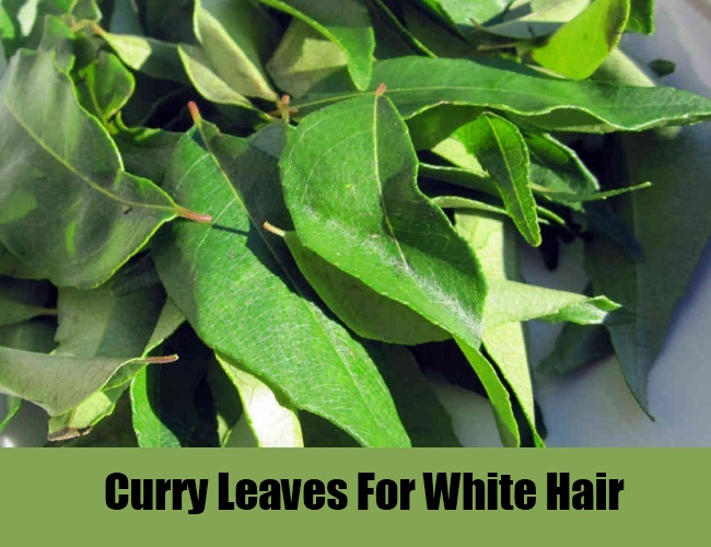 Curry Leaves For White Hair