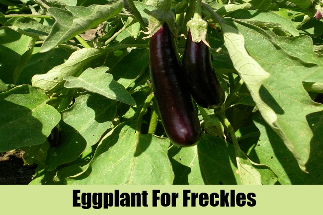 Eggplant For Freckles