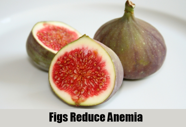 Figs Reduce Anemia