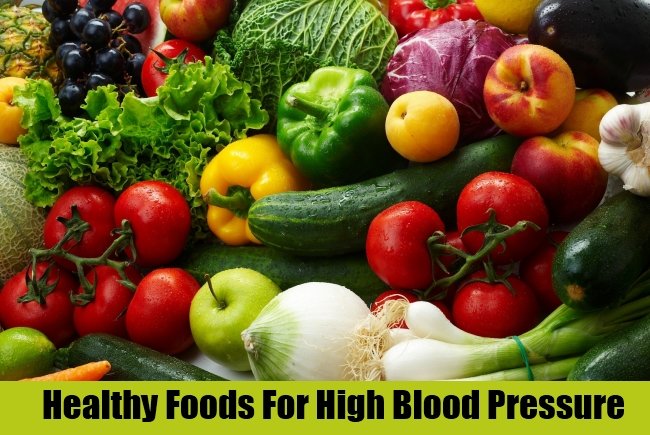 Healthy Foods For High Blood Pressure