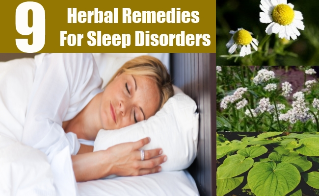 Herbal Remedies For Sleep Disorders