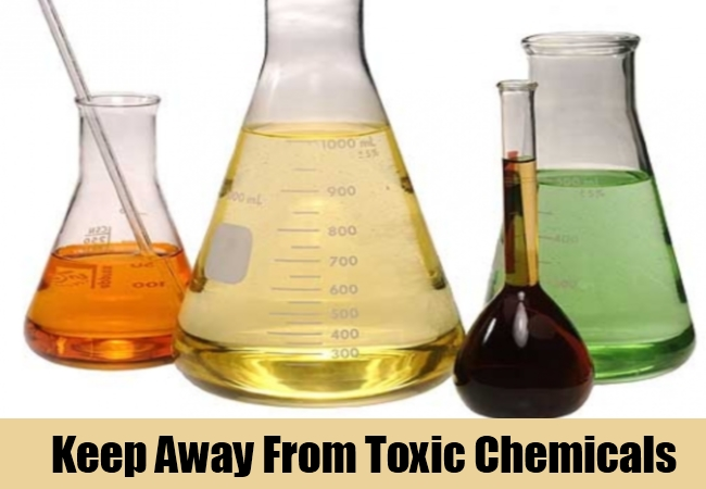 Keep Away From Toxic Chemicals