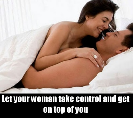 Let Her Stay On Top Of You