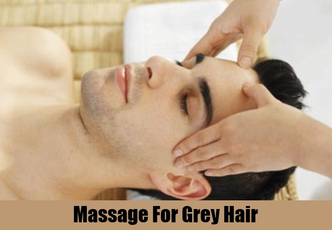 Massage For Grey Hair