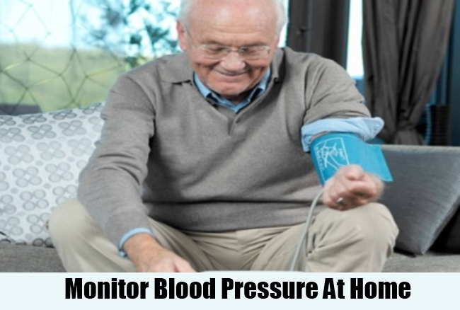 Monitor Blood Pressure At Home