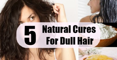 Natural Cures For Dull Hair