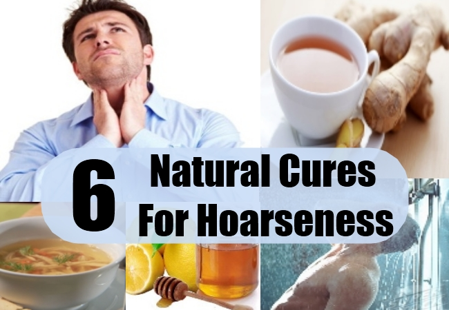 Natural Cure Hoarse Voice