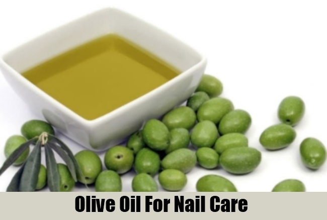 Olive Oil For Nail Care