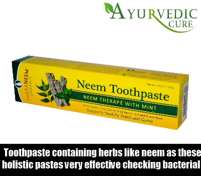 Opt For Neem Toothpaste Or Oil