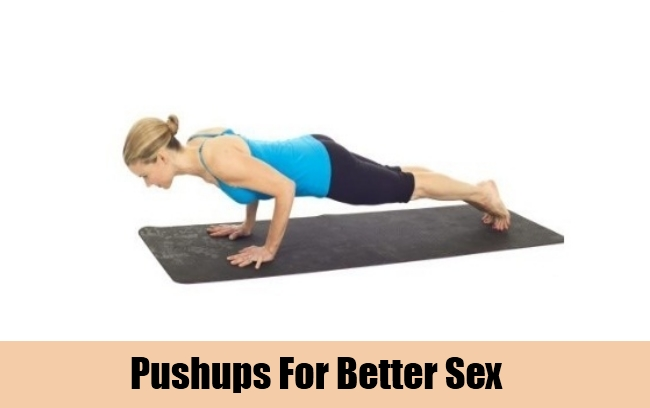 Pushups For Better Sex