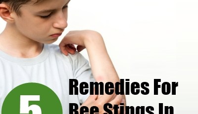 Remedies For Bee Stings In Children