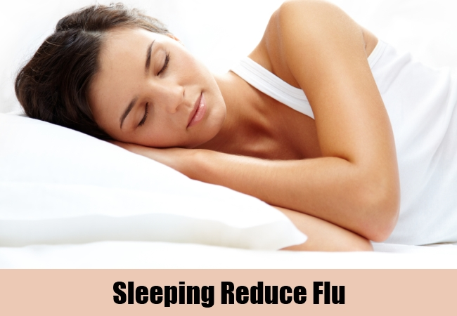 Sleeping Reduce Flu