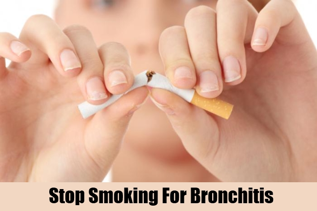 Stop Smoking For Bronchitis