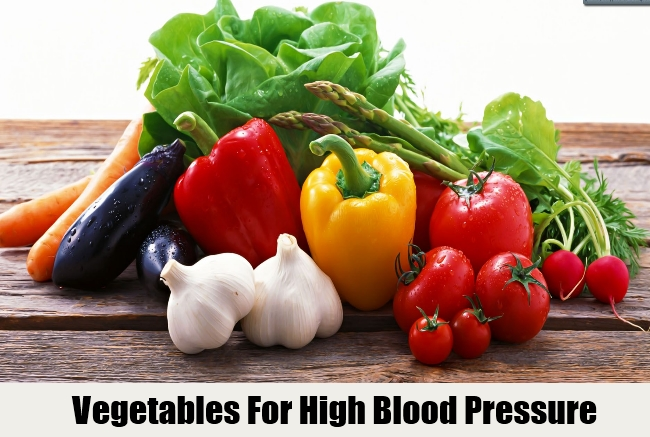 Vegetables For High Blood Pressure