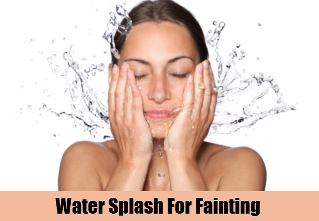 Water Splash For Fainting