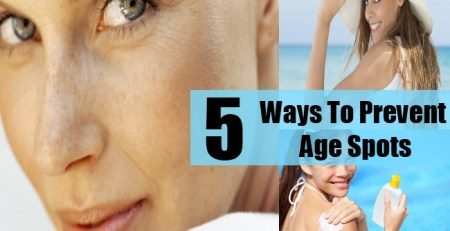 Ways To Prevent Age Spots
