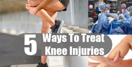 Ways To Treat Knee Injuries
