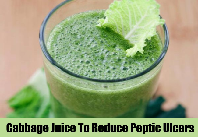 Cabbage Juice To Reduce Peptic Ulcers